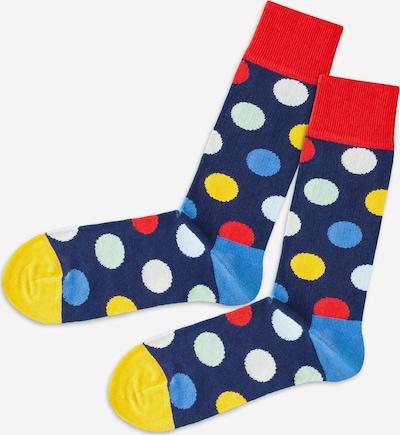 DillySocks Socken in blau / gelb / rot / weiß, Produktansicht