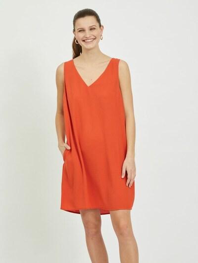 Rochie VILA pe portocaliu închis, Vizualizare model
