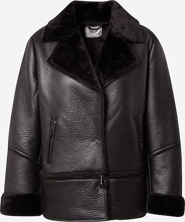 Guido Maria Kretschmer Collection Kunstlederjacke 'Dakota' in Black