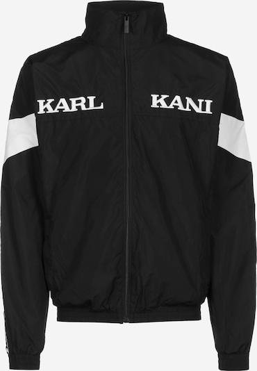 Karl Kani Sportjas ' Retro Tape ' in de kleur Zwart / Wit, Productweergave