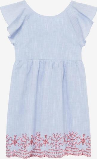 MANGO KIDS Kleid 'Alessia' in himmelblau / rot, Produktansicht