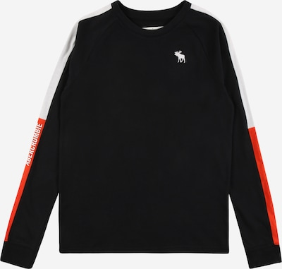 Abercrombie & Fitch Camiseta en naranja / negro / blanco, Vista del producto