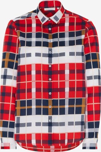 ETERNA Bluse in blau / rot / weiß, Produktansicht