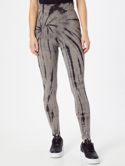 Urban Classics Leggings in grau / schwarz, Modelansicht