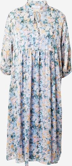 Love & Divine Kleid 'Love620' in dunkelbraun / smaragd / pastellpink / weiß, Produktansicht