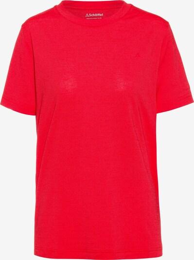 Schöffel Funktionsshirt 'Hochwanner' in rot, Produktansicht