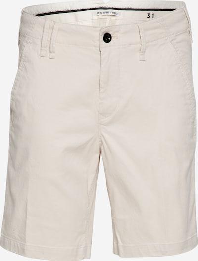 G-Star RAW Čino bikses 'Vetar', krāsa - krēmkrāsas, Preces skats