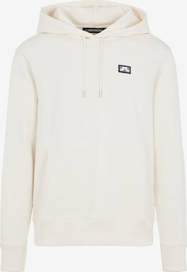 J.Lindeberg Sweatshirt 'Hurl' in de kleur Wit, Productweergave
