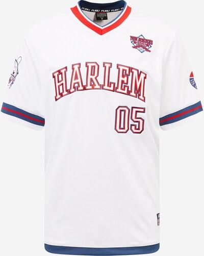 FUBU Majica 'Harlem' | mornarska / rdeča / bela barva, Prikaz izdelka