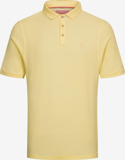 COLOURS & SONS Poloshirt 'Basic Polo RAPHAEL' in gelb, Produktansicht