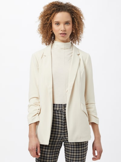 ONLY Blazer 'Carolina' in taupe, Modelansicht