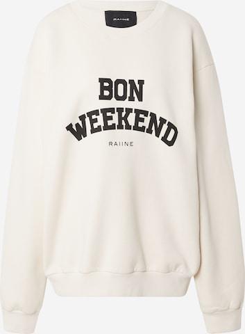 RAIINE Sweatshirt in Weiß