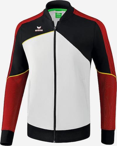 ERIMA Jacke in dunkelrot / schwarz / weiß, Produktansicht