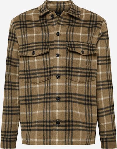 AllSaints Риза 'Bertholdt' в Каки / черно / бяло, Преглед на продукта