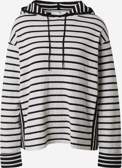 OUI Sweatshirt in schwarz / eierschale, Produktansicht