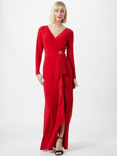 Lauren Ralph Lauren Abendkleid 'LUANA' in rot, Modelansicht