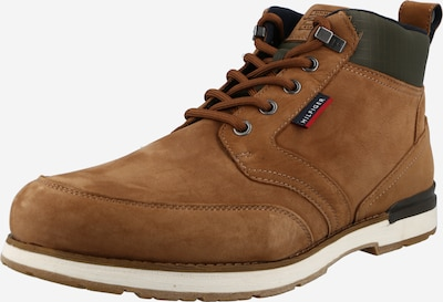 TOMMY HILFIGER Lace-Up Boots in Cognac / Brocade, Item view