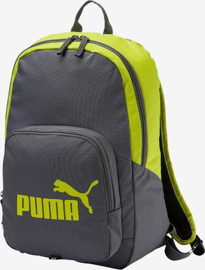 PUMA Rucksack in gelb / grau, Produktansicht