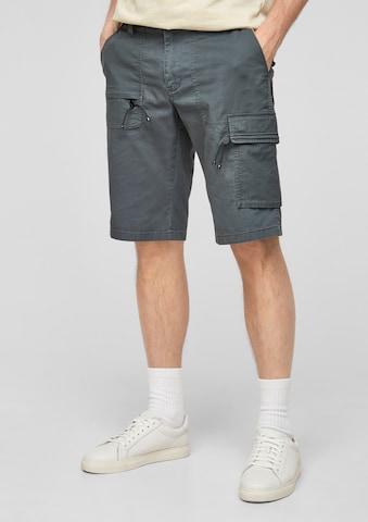 s.Oliver Klapptaskutega püksid, värv hall