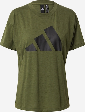 ADIDAS PERFORMANCE T-Shirt 'Winners' in Grün