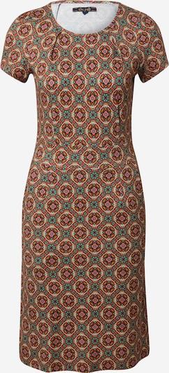 King Louie Kleid 'Mona' in dunkelblau / gelb / jade / knallrot / weiß, Produktansicht