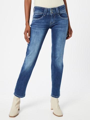 Pepe Jeans Broek 'NEW GEN' in Blauw