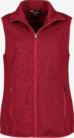 Ulla Popken Bodywarmer in de kleur Donkerrood, Productweergave