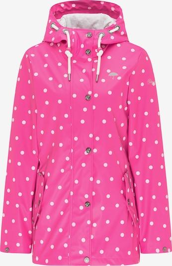 Schmuddelwedda Jacke in pink / weiß, Produktansicht