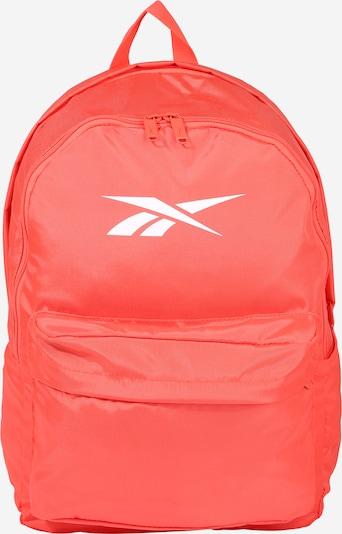REEBOK Sportrugzak in de kleur Perzik / Wit, Productweergave