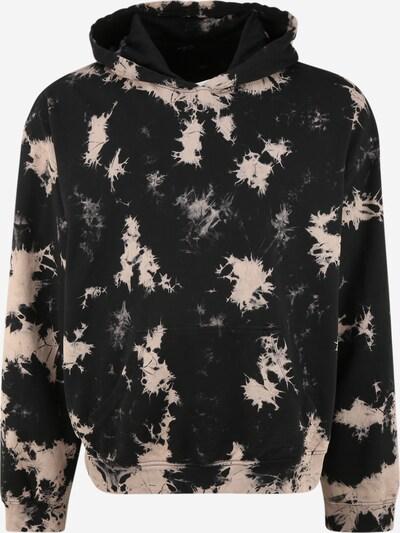 Urban Classics Plus Size Sweat-shirt en beige / noir, Vue avec produit
