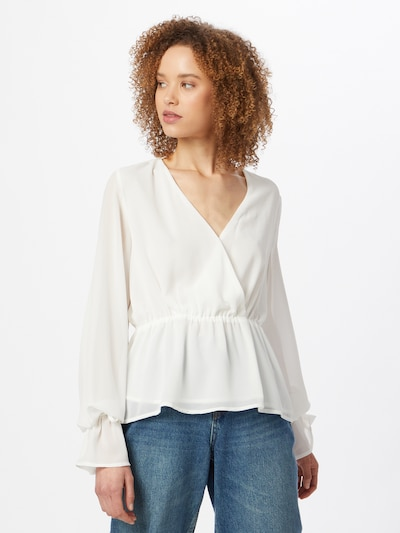 Camicia da donna NA-KD di colore bianco, Visualizzazione modelli