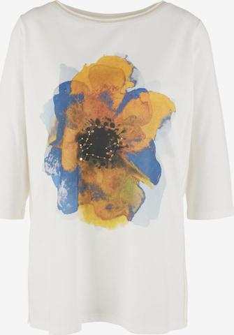 TRIANGLE T-Shirt in Weiß