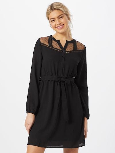 ABOUT YOU Košilové šaty 'Greta' - černá, Model/ka