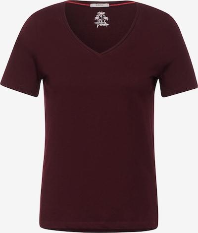 CECIL T-Shirt in weinrot, Produktansicht