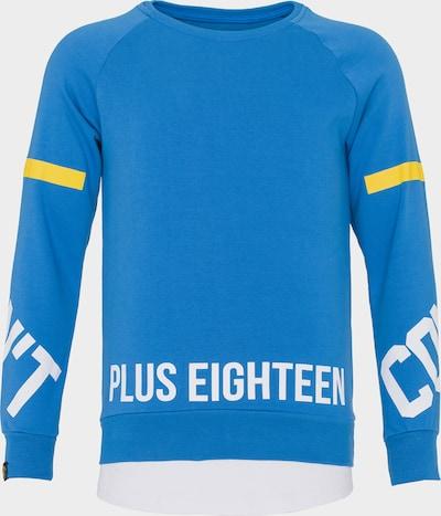 PLUS EIGHTEEN Sweater in blau, Produktansicht