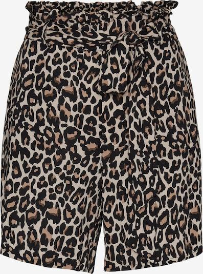 VERO MODA Pantalon 'Simply Easy' en marron / gris clair / noir, Vue avec produit