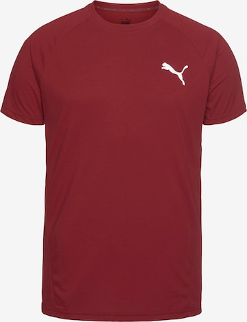 PUMA Sportshirt in Rot
