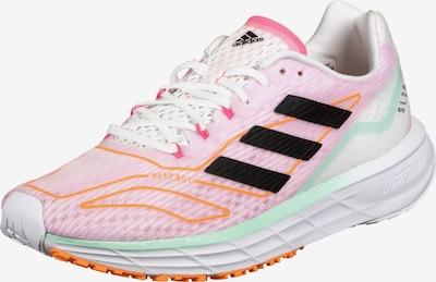 ADIDAS PERFORMANCE Chaussure de course en bleu clair / rose clair / blanc, Vue avec produit