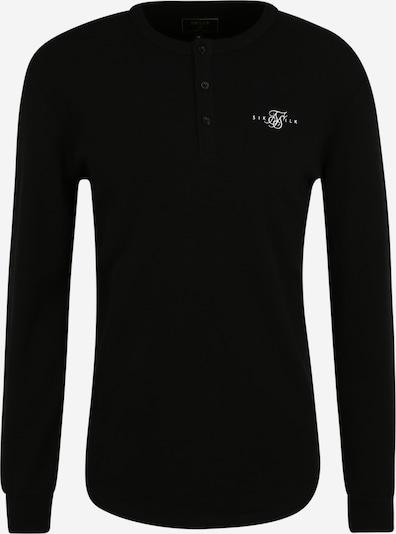 SikSilk T-Shirt en noir, Vue avec produit