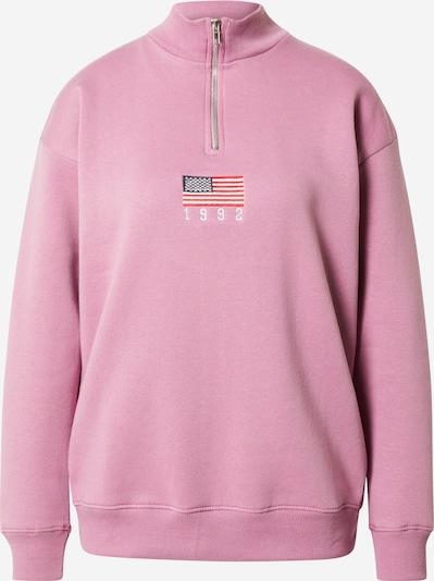 Daisy Street Sweatshirt in Navy / Orchid / Grenadine / White, Item view
