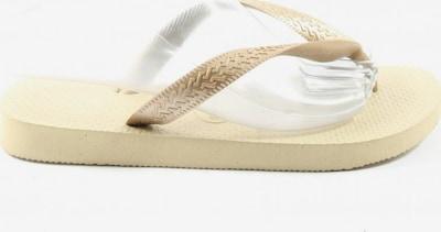 HAVAIANAS Flip Flop Sandalen in 37 in creme, Produktansicht