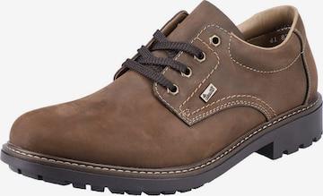 RIEKER Δετό παπούτσι σε καφέ