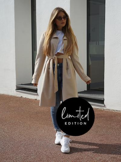 ABOUT YOU Limited Prechodný kabát 'Nele' - béžová, Model/-ka