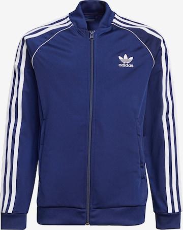 ADIDAS ORIGINALS Övergångsjacka i blå
