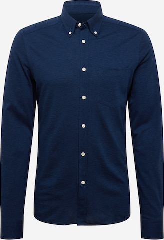 J.Lindeberg Button Up Shirt in Blue