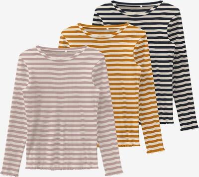 NAME IT T-shirt 'VEMMA' i marinblå / orange / gammalrosa / vit, Produktvy