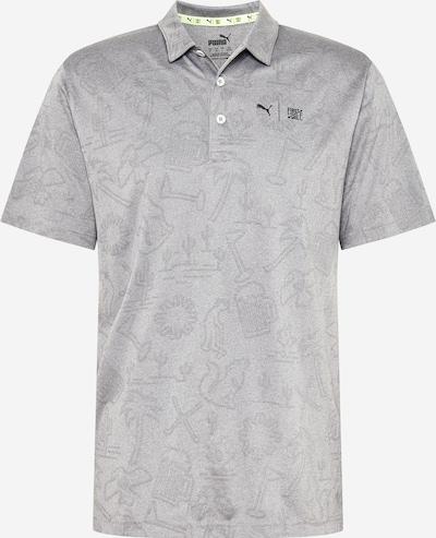 PUMA T-Shirt fonctionnel 'Flash' en gris / noir, Vue avec produit