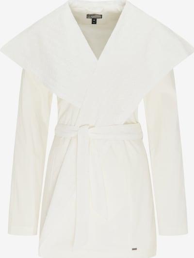 DreiMaster Vintage Manteau mi-saison en blanc cassé, Vue avec produit