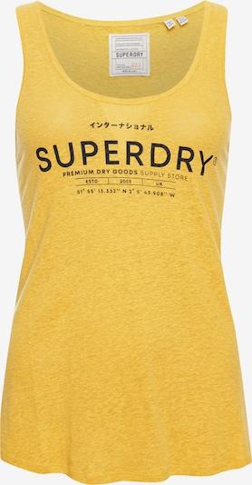Superdry Desert Trägerhemd aus Leinen in gelb, Produktansicht