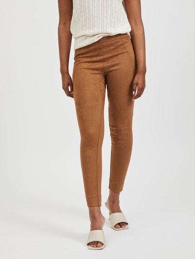 VILA Leggings 'Ghita' in braun, Modelansicht